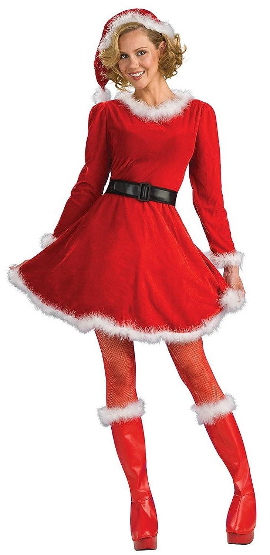 Long mrs claus dress