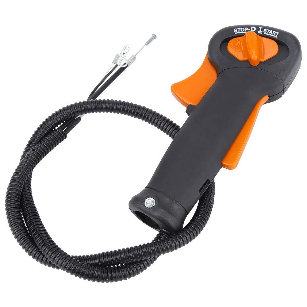 TOPINCN Cortadora C/ésped Profesional Interruptor Control Acelerador Mango Cortador Desbrozadora Se Adapta a FS120 FS200 FS250