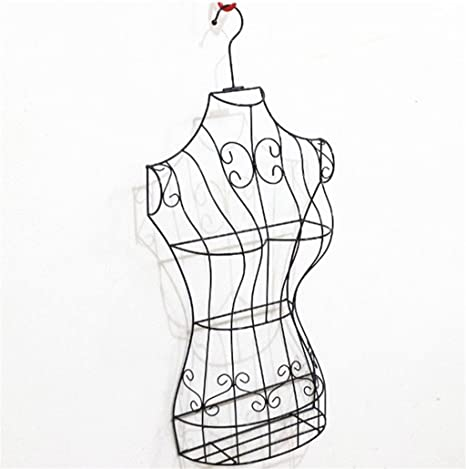Amazon.com: AIDELAI Coat Rack Half Body Female Model Rack ...