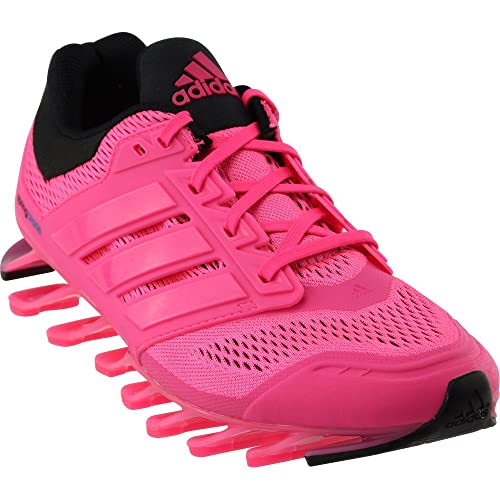 2ea78a32b050 Adidas Women s Springblade Drive Running Shoes Sol pink Solblue Black 10  B(M) US  Amazon.in  Shoes   Handbags