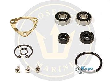 poseidon marine water pump repair kit for yanmar 1gm 1gm10 inc:  24101-060004 for pump 128170-42200, engine spare part kits - amazon canada