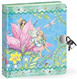 "Peaceable Kingdom Fairy World 6.25"" Lock and Key, Lined Page Diary for Kids"