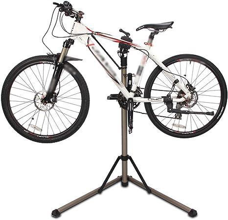 WOLJW Soporte de Reparación de Bicicletas -Mesa de Trabajo Portátil Mecánica para Bicicletas con Disco de Mantenimiento - para Bicicletas de Montaña y Mantenimiento de Bicicletas de Carretera: Amazon.es: Deportes y aire