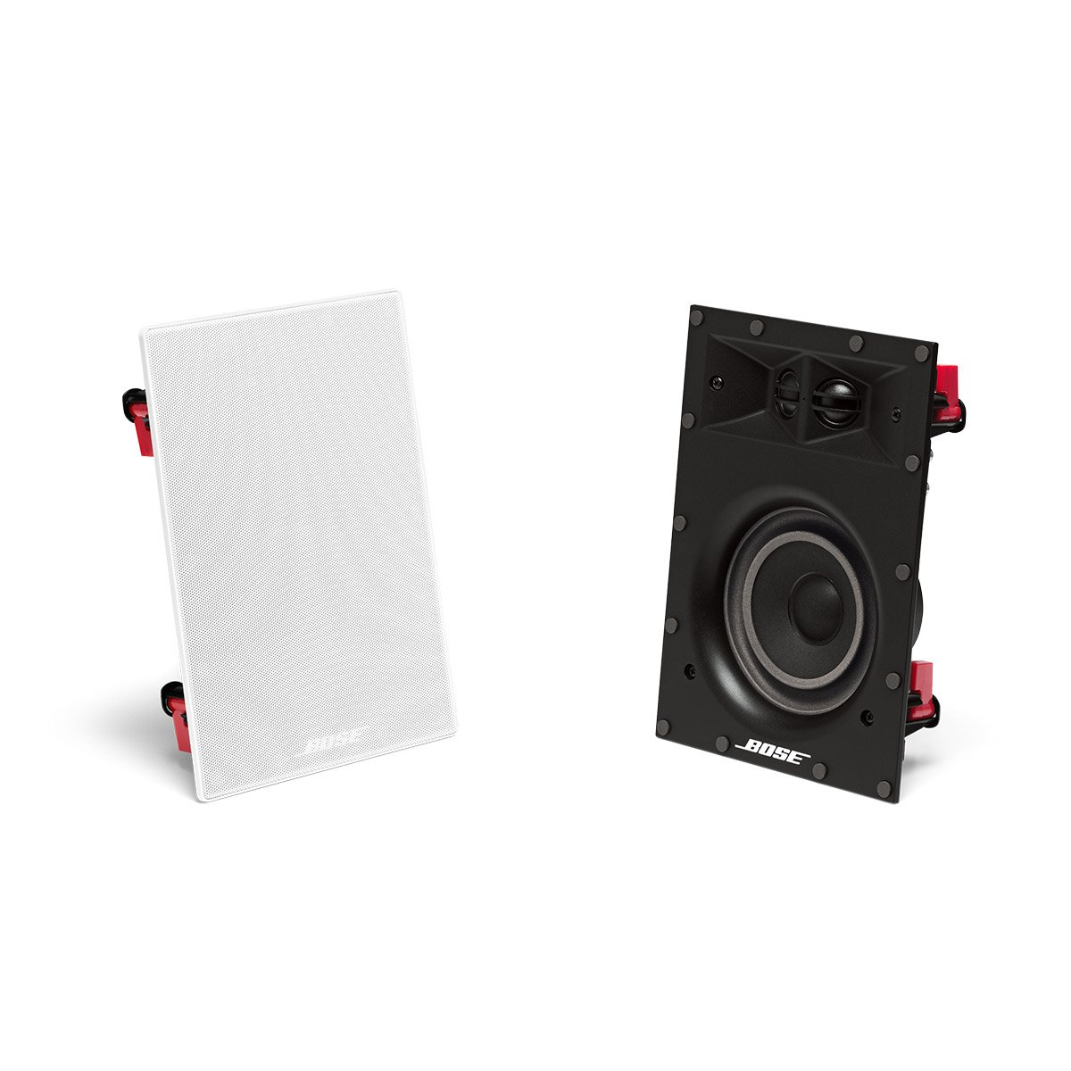 bose in wall speakers. amazon.com: bose virtually invisible 691 in-wall speaker (white) pair of two: home audio \u0026 theater in wall speakers
