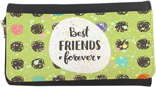 محفظة مصنوعة من الجلد بتصميم اصدقاء الى الابد