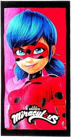 Factory Ladybug Toalla, Algodón, Rojo, 140x70x1 cm: Amazon.es: Hogar