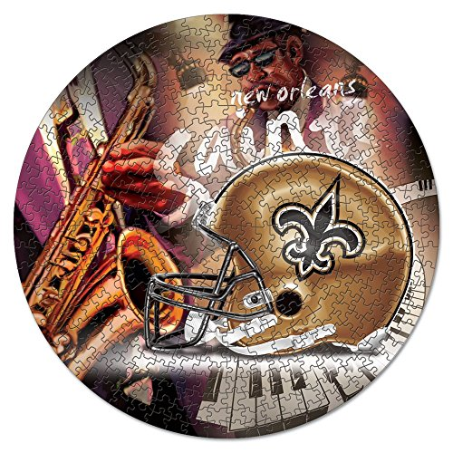 WinCraft NFL New Orleans Saints Puzzle in Box (500 ()