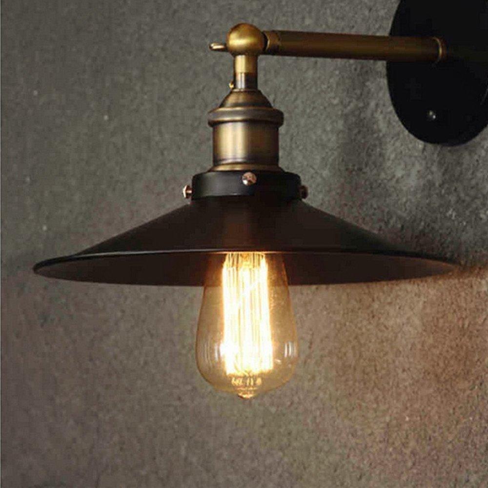 6 piezas longyee Vintage E27 rosca Edison Bombilla 40 W regulable ST64 antiguo filamento tungsteno Loop Estilo Quirrel Cage filamento de tungsteno cristal bombillas 220 V