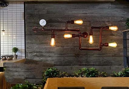 Lampada da parete creativa applique da parete art nostalgia in