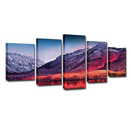 Amazoncom Mytinaart Art Modern Wall Art Sierra Nevada