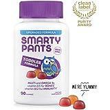 SmartyPants Complete幼儿每日维生素软糖: 多种维生素,不含麸质,Omega-3鱼油(EPA/DHA脂肪酸),维生素D3,维生素B12,碘,维生素E,90粒(30天供应量)