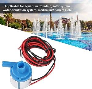 Simlug Brushless Water Pump Mini Food Grade Brushless Water Pump 6V DC 3W for Aquarium Fountain Medical Instruments