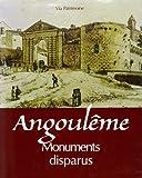 Monuments Disparus d'Angouleme