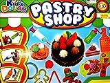 Kid's Dough Kids Dough Modelling Play set Dough Tubs Pastry Shop Children's Toy Gift Idea 3+
