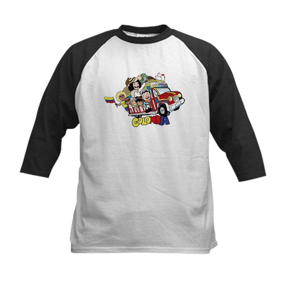 630624cec CafePress - Colombian Chiva Kids Baseball Jersey - Kids Cotton Baseball  Jersey