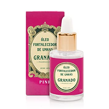 Linha Pink Granado - Oleo Fortalecedor de unhas 10 ml - (Granado Pink Collection -