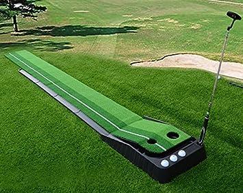 Amazon.com : Signstek Indoor Outdoor Golf Auto Return Putting ...