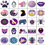 VSCO Purple Stickers for Water Bottles Big