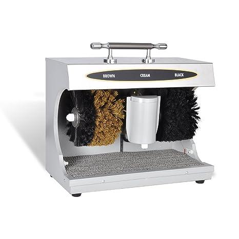 vidaXL Máquina de lustrado de zapatos eléctrica máquina de pulido de Zapato Pol