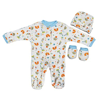 3 Piece Layette Set Clothes Packs For Baby Boys Girls Infants Unisex