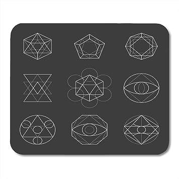 Alfombrillas de ratón Octágono Geometría sagrada Formas ...