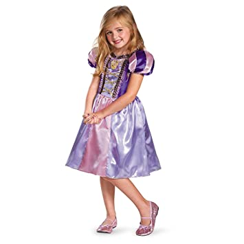 2f7f6983fbbd Disguise Costumes Disney's Tangled Rapunzel Sparkle Classic Girls Costume,  4-6X, Girls - Amazon Canada