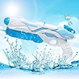 MOZOOSON Water Pistol Powerful Water Gun Squirt Large Moisture Capacity Long Range Water Blaster Toys for Kids and Adults