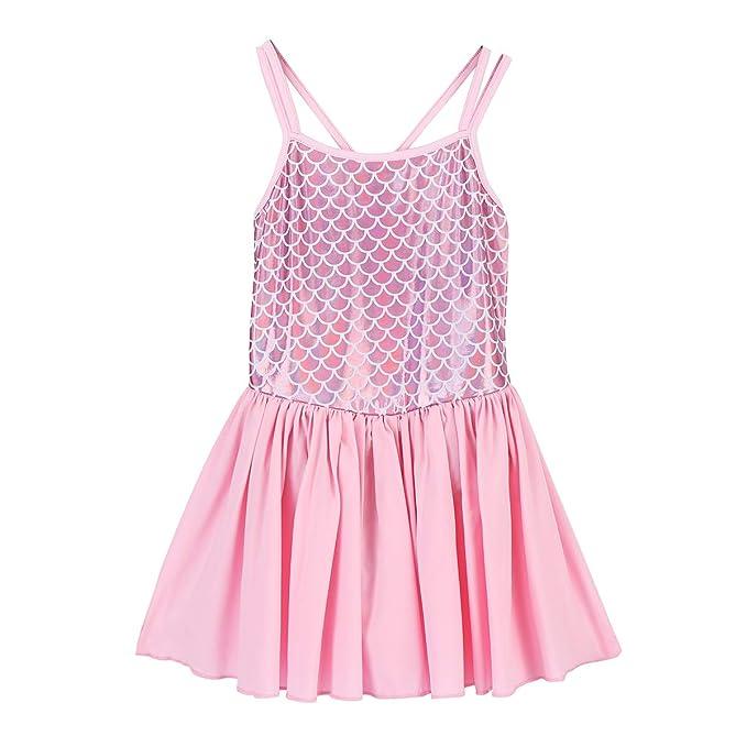 Amazon.com: FYMNSI - Vestido sin mangas para niñas con ...