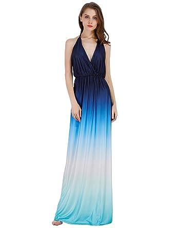Sleeveless Teal Long Prom Dress