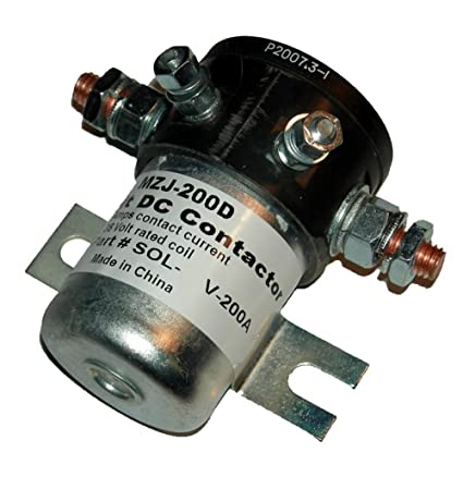 amazon com : mzj-200 amp 36 volt main contactor / solenoid : sports &  outdoors
