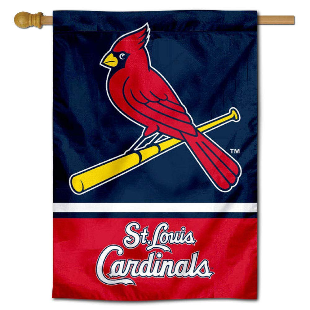 WinCraft St. Louis Cardinals Two Sided House Flag