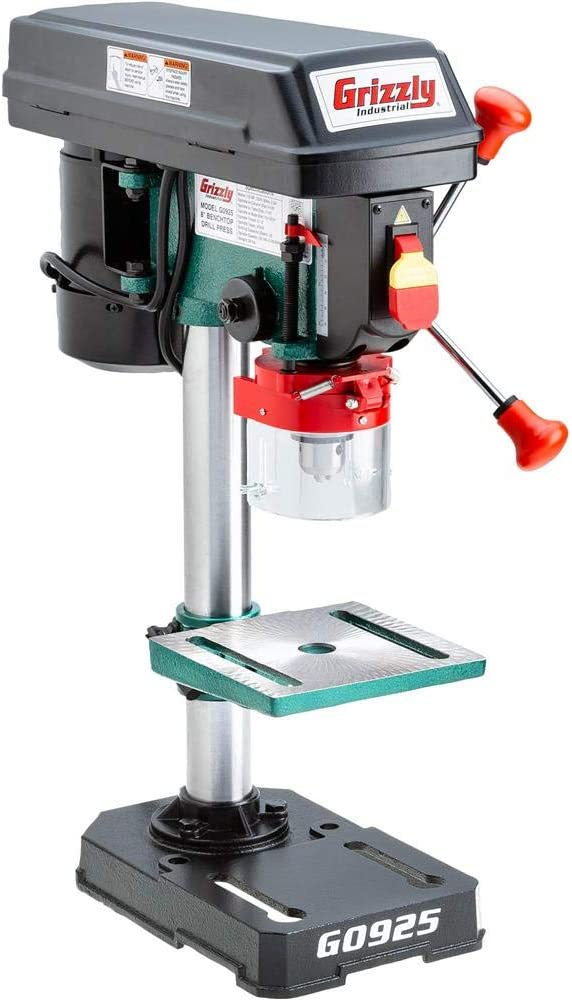 """Grizzly Industrial G0925 - 8"""" Baby Benchtop Drill Press"""
