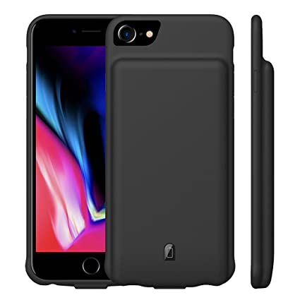 Amazon.com: MAXBEAR - Funda de batería para iPhone 7 y 8 ...