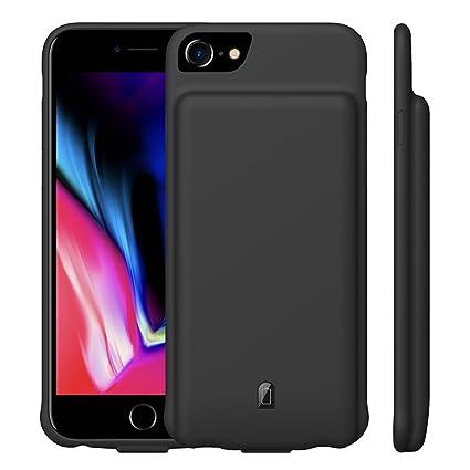 Amazon.com: MAXBEAR - Funda de batería para iPhone 7 y 8 ...