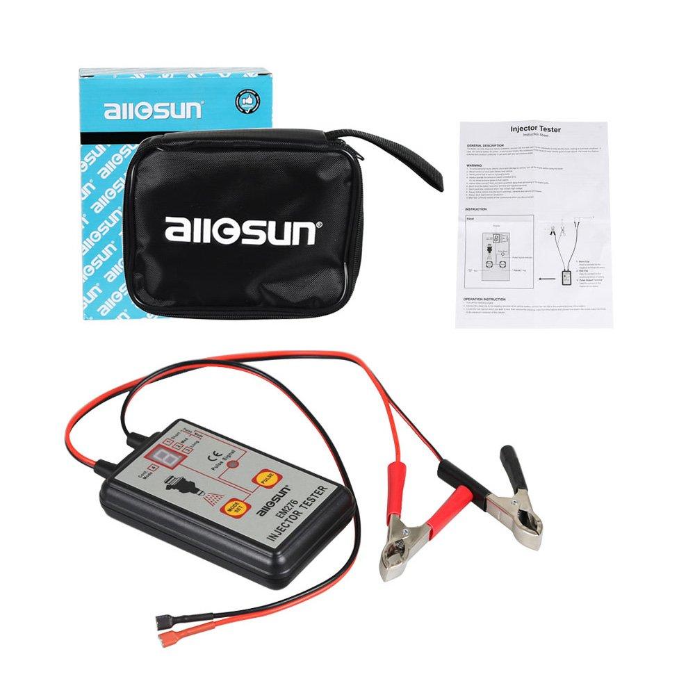 all-sun profesional em276 Inyector comprobador 4 modos de Pluse potente sistema de combustible Herramienta de detección: Amazon.es: Coche y moto