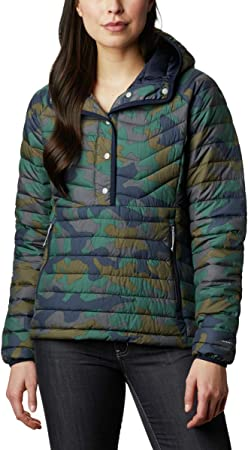Columbia Powder Insulated Anorak Aislado en Polvo Lite, Mujer