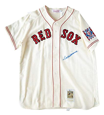 sale retailer 4480d 8a729 Ted Williams Signed Jersey - Mitchell & Ness BAS A62805 ...