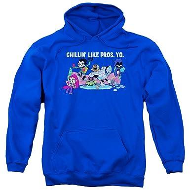 d509b291deda Teen Titans Go - Mens Like Pros Yo Pullover Hoodie  Amazon.co.uk ...