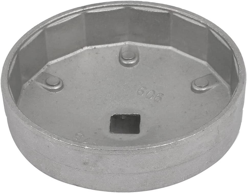 uxcell 909 Model 15 Flutes 92mm Inside Dia Cap Shaped Oil Filter Wrench