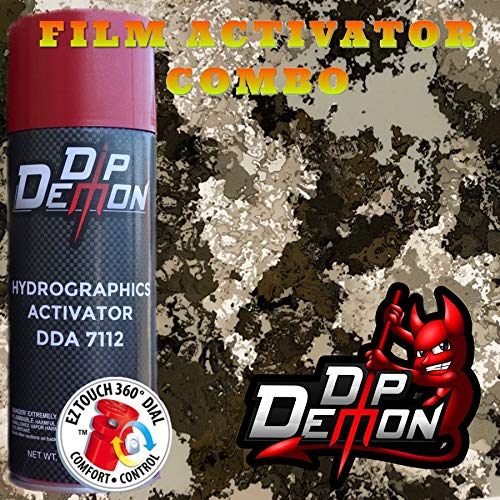 Hydrographic Film Camo Combo Kit Veil Camouflage West River Hydro Graphic Water Transfer Film Activator Combo Kit Hydro Dipping Dip Demon