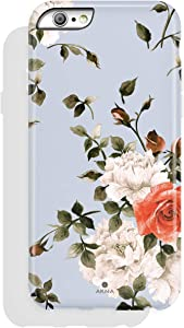iPhone 6/6s case, Floral Design, Akna High Impact Flexible Silicon Case for Both iPhone 6 & iPhone 6s (772-U.S)