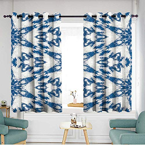 (home1love Waterproof Window Curtains Insulated with Grommet Curtains for Bedroom W 55