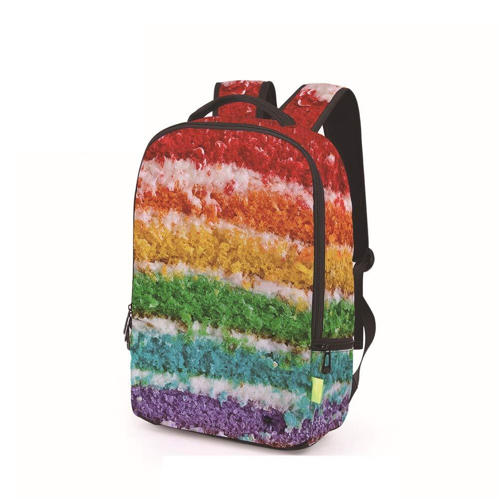 SHKY SHKY SHKY Kühles Schulranzen-einzigartiger Art-Schulrucksack des Druckens 3D, Schultasche-Bunte lustige Unisexreise-Schulter-Beutel-Rucksack - Gepäck-Laptop-Rucksack B07PY8BGSH Daypacks Leidenschaftliches Leben 54eb53