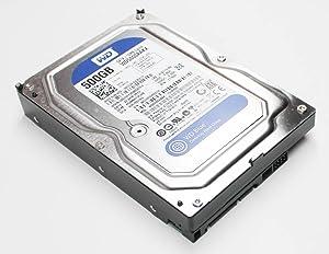 Western Digital 500GB SATA 3.5 Hard Drive - WD5000AAKX-60U6AA0