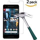 Google Pixel 2 Screen Protector,[2-Pack] TANTEK [Case Friendly] Pixel 2 Anti Scratch ,Bubble Free, HD Ultra Clear,Premium Tempered Glass Screen Protector for Pixel 2 (2017)