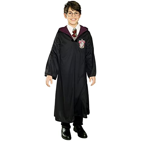 Harry Potter traje de túnica| de tamaño 128/134: Amazon.es ...