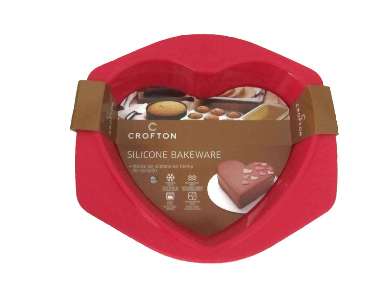 Amazon.com: Crofton de silicona con forma de corazón ...