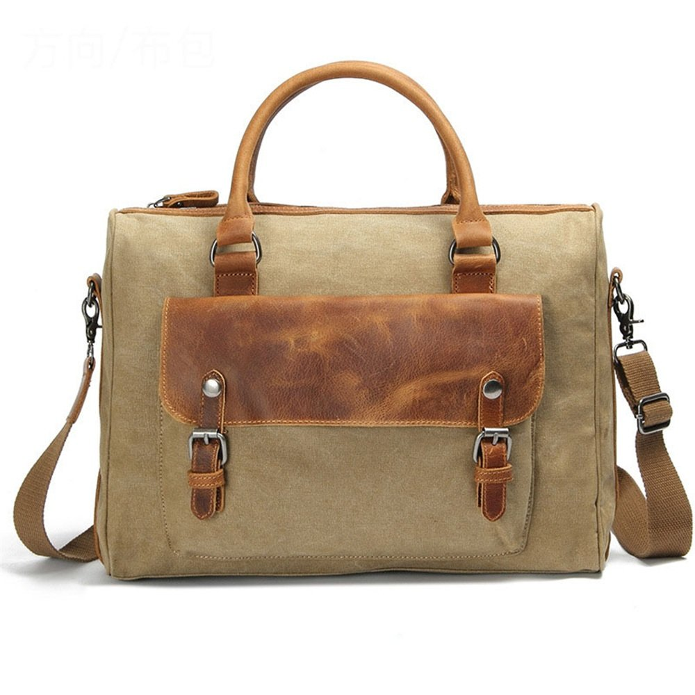 Handbag Casual Business Briefcase Shoulder Messenger Bag Messenger Bag Messenger bag Color : Brown