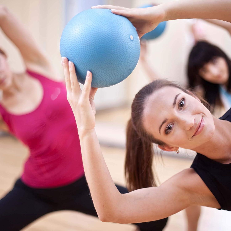Mini Pilates Ball Gymnastikball für Beckenübungen Stärkung der