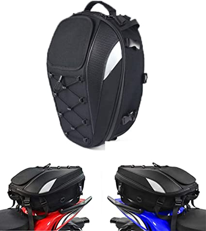 Motorcycle Rear Bag Multifunction Shoulder Waterproof Cover Luggage Cycling